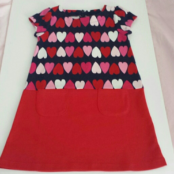 536b1f2767590 Gymboree Dresses | Nwt Girls Size 6 Heart Dress | Poshmark